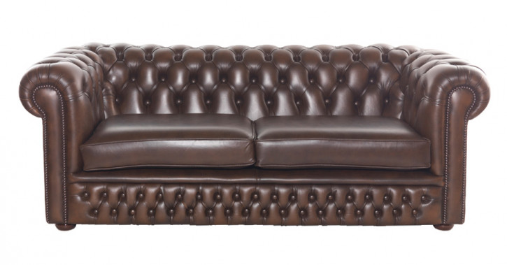 """Bristol"" original Chesterfield 3-Sitzer"