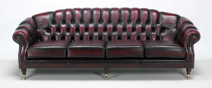 "Chesterfield Sofa ""Paisley"" 2-Sitzer"