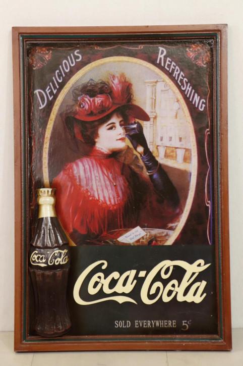 Vintage Werbeschild für Softdrinks
