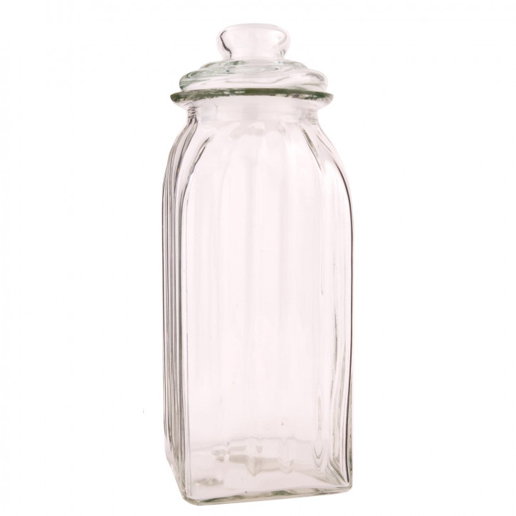 Vorratsglas mit Deckel Glas ca. 10,5 x 28,5 cm