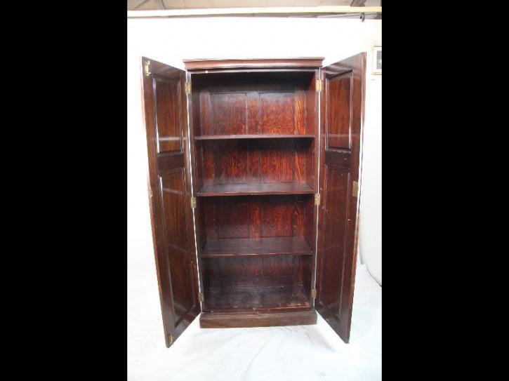 Bücherschrank Bookcase Victorian massiv Mahagoni