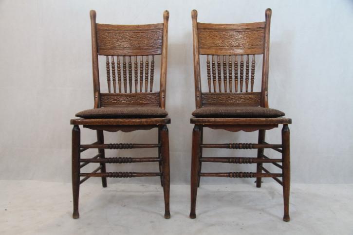 7 Jugendstil Stühle aus dem 19 JH