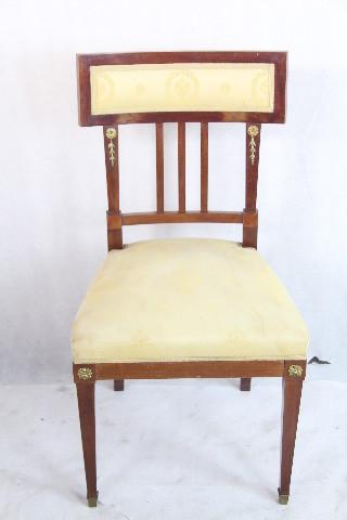 Mahagoni Stuhl  klassischer Chair aus England 1900