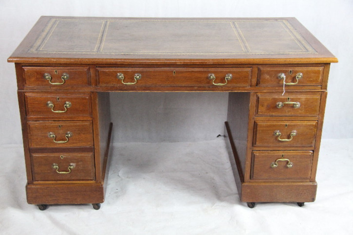 Mahagoni Schreibtisch Victorian Original  1860