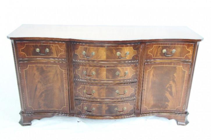 Sideboard Mahagoni  England Bandintarsien