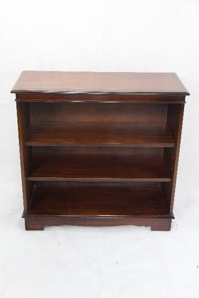 open bookcase Mahagoni Regal