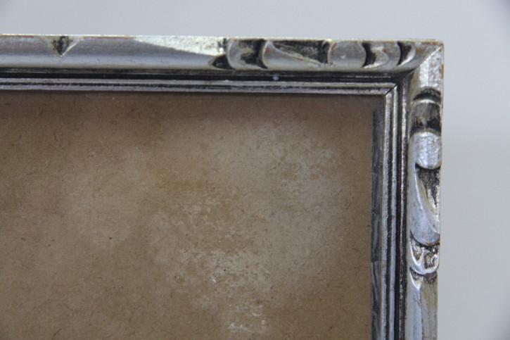 Bilderrahmen   Silber vintage