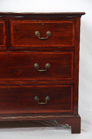 Kommode  Mahagoni Chest edwardian handpoliertz
