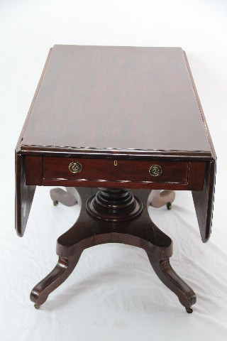 folding table breakfast table sofatable Mahagoni 1860
