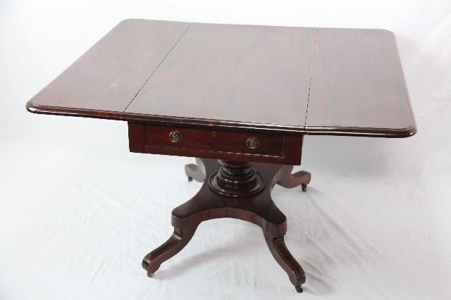 folding table breakfast table sofatable Mahagoni 1860