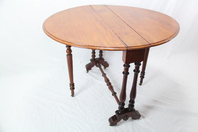 Folding Table  sutherland table edwardian klapptisch mahagoni