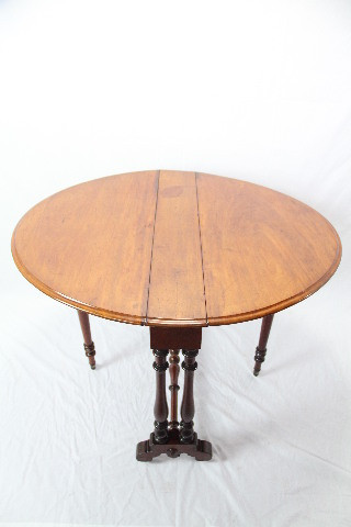 Folding Table  sutherland table edwardian klapptisch mahagoni