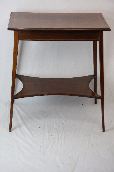 Beistelltisch Massivholz Mahagoni Original Edwardian 1890