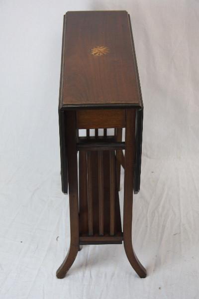 Sutherland table Beistelltisch Original england 1890 massivhol Mahagoni