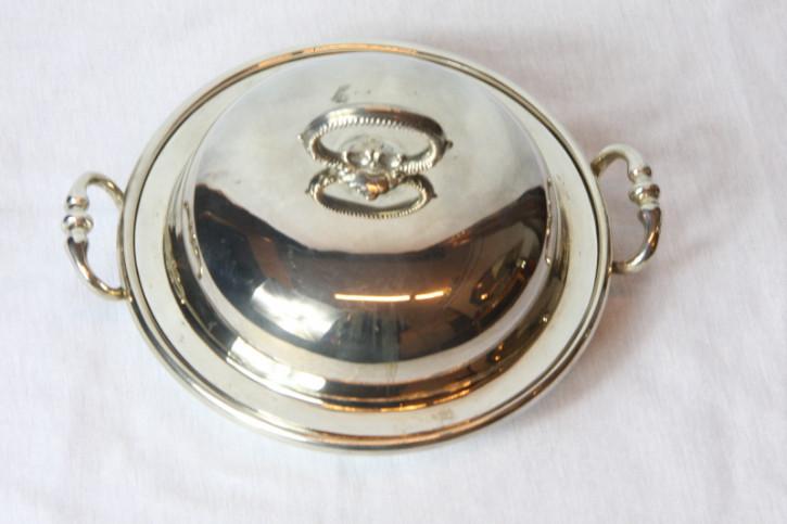 Platet Bowl Dinnerschale versilbert Original england