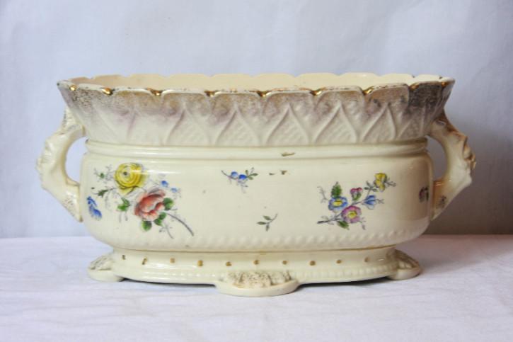 Blumentopf Schüssel England Porcelan 1860 Original