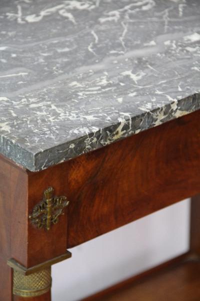Mamor Tisch französicher Louis Phillip Table Frankreich