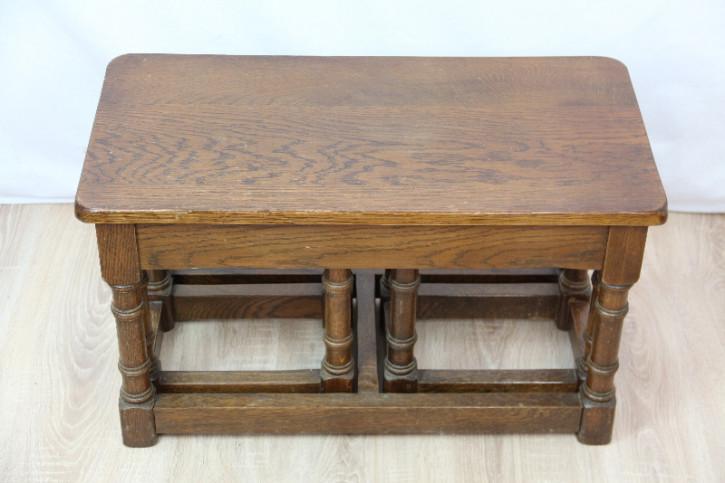 Landhaus Sofatische Set Massivholz eiche Country furniture