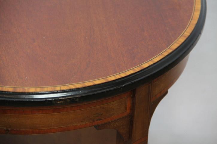 Tisch Rund Ocaationstisch Edwardian Massiv Mahagoni