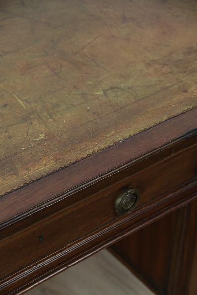 Schreibtisch Massiv Mahagoni England 1890 Original