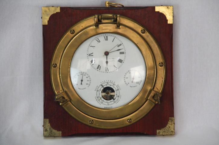 Uhr Schiffsuhr Mahagoni France