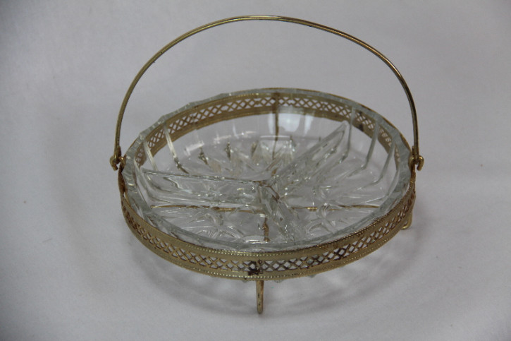 Glas Schale Aperetiv schale france Antik