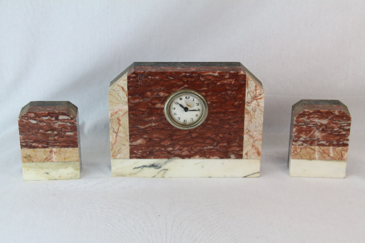 Uhr  Set Art Deco France Original 1930