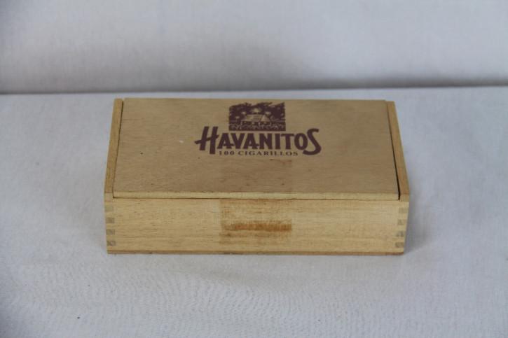 Domino antike steine in Holzdose