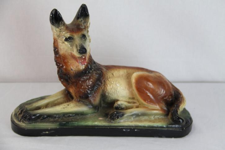 Hund Figur France Antik