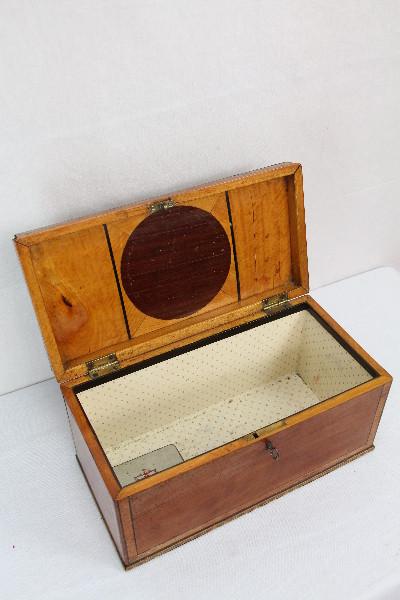 Teabox Teedose Selten feines Satinholz 1860 England
