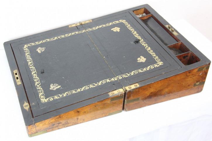Schreibbox  Letterbox Reiseschreibtisch Laptop Antik