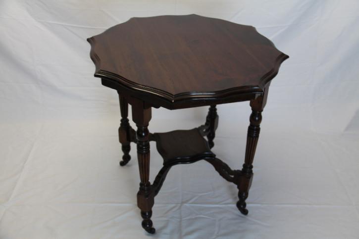 Mahagoni Tisch Beistelltisch  England 1880 Patina