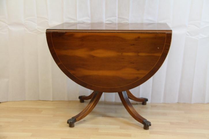 Esstisch Eibe Pembroke Table England Handpoliert