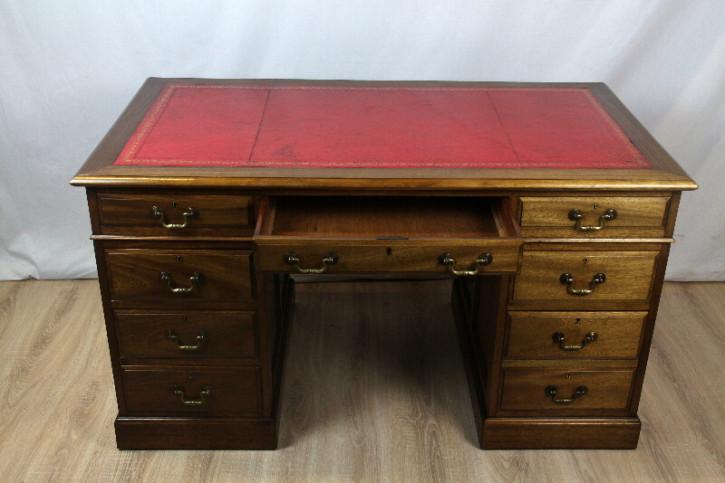 Mahagoni Schreibtisch Massiv Victorian  1880 England