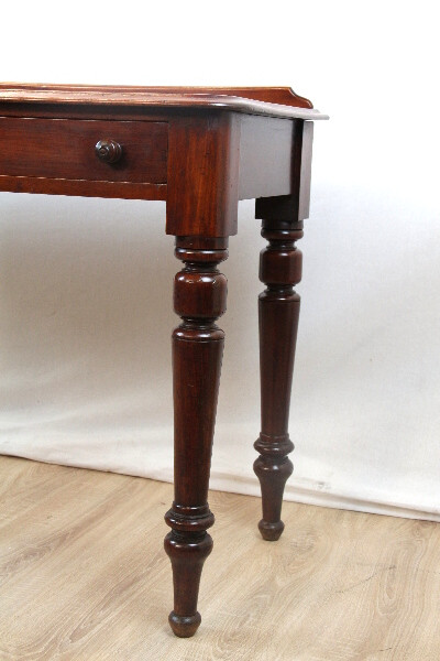 Schreibtisch Mahagoni Ladiesdesk Victorian 1880 Massivholz