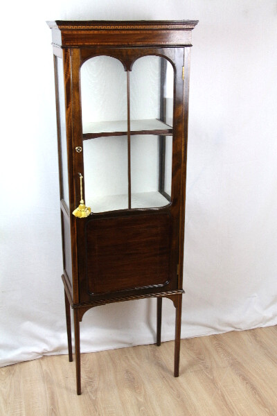 Vitrine Edwardian Showcase Display Cabinet