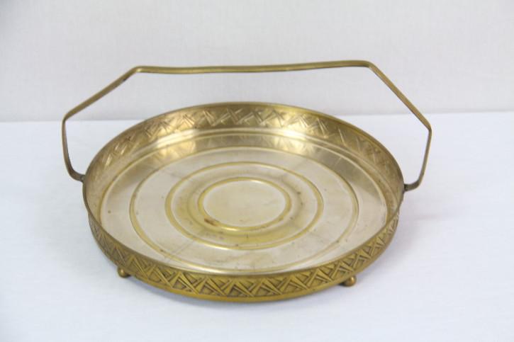 Goldene Schalen mit Henkel  Set  Viktorian
