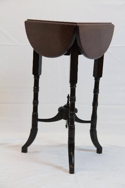 feiner  Massivholz Table Klapptisch Victorian 1860