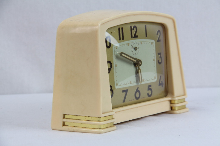 Uhr Bakalit France Art Deco Original