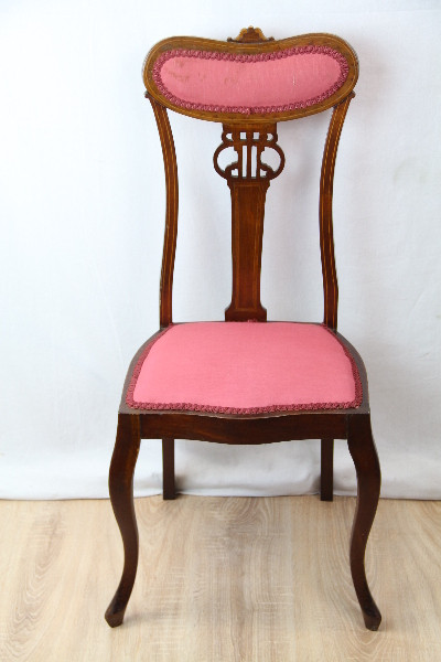Stühle  Paar edwardian Massivmahagoni 1890