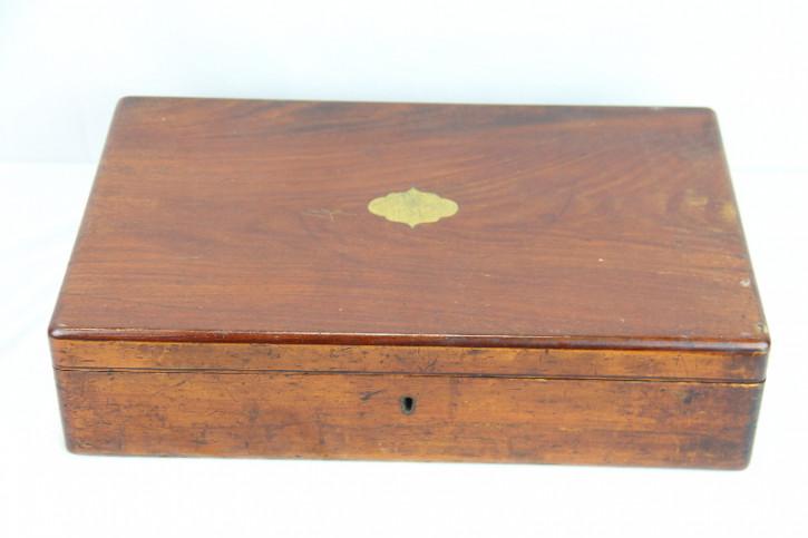 Box Mahagoni Cutlery besteckbox England 1890