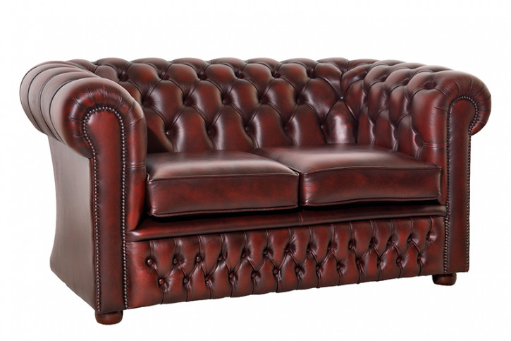 Chesterfield Sofa 2-Sitzer London Classic