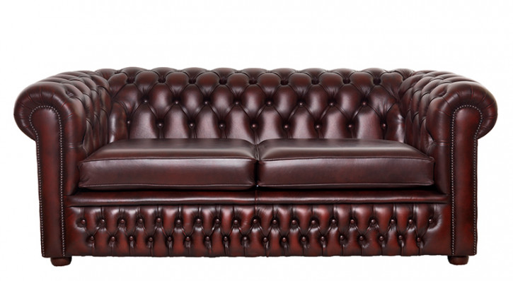 """London Classic"" Original Chesterfield Sofa 3-Sitzer"