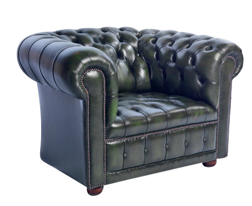 """London Classic Buttonseat"" Chesterfield Sessel"