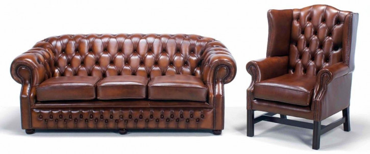 Chesterfield Livingston 2-Sitzer