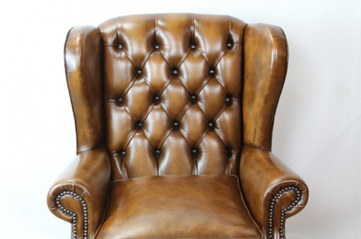 """Windsor Wing Chair"" Chesterfield Sessel"