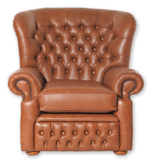 """Chippenham Chair"" Chesterfield Sessel"