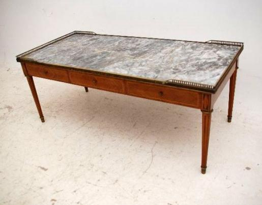 antiker marmor couchtisch. Black Bedroom Furniture Sets. Home Design Ideas