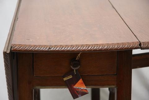 Gateleg Tisch.Tisch Gateleg Mit Schublade