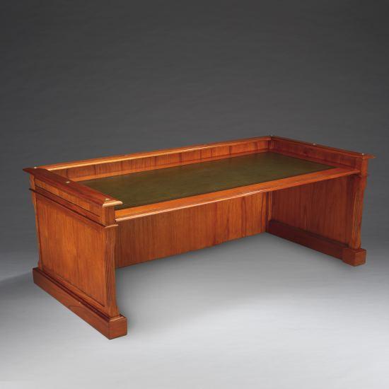 Globe wernicke schreibtisch desk holz top for Schreibtisch holz dunkel